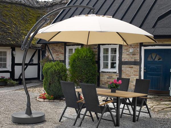 Критерии выбора пляжного, садового, уличного зонта, зонта для кафе, подставок для зонтов